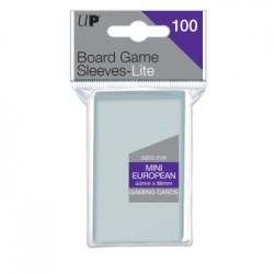 mighty-games-100x Sleeves Ultra-Pro 44x68mm - Mini European Board Game Lite
