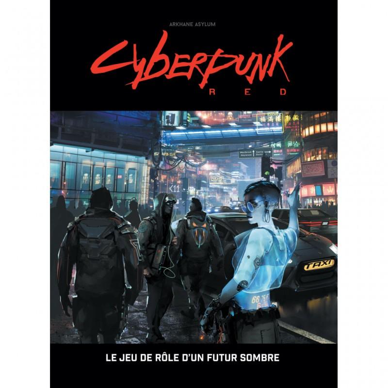 mighty-games-Cyberpunk RED - Livre de base
