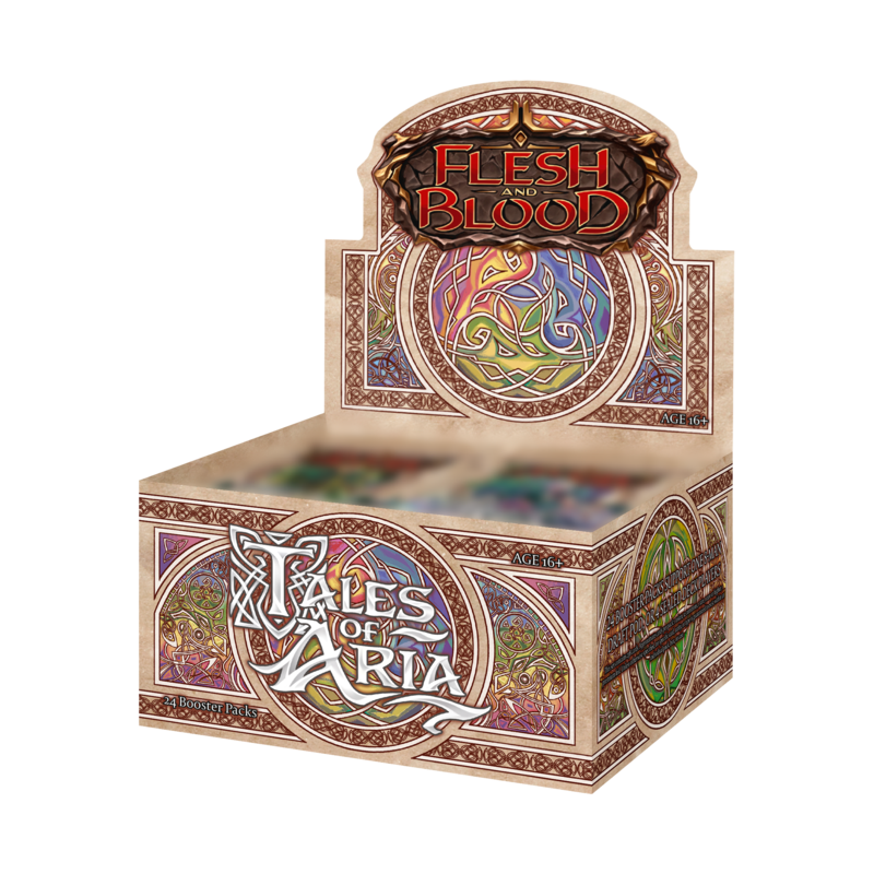 mighty-games-Tales of Aria Unlimited Booster Display