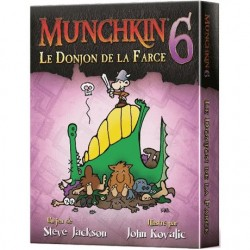 mighty-games-Munchkin 6 - The Farce Dungeon